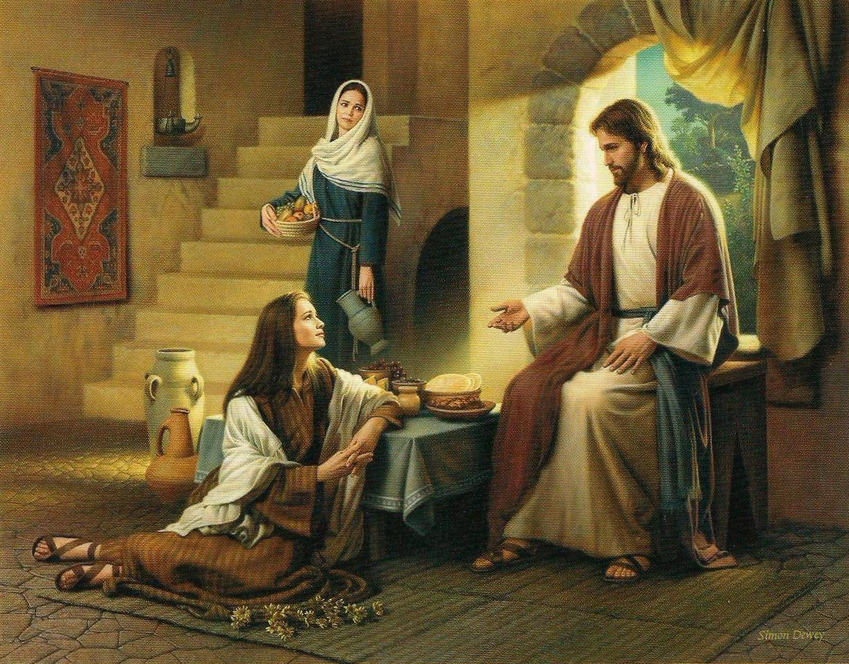 Martha y Maria en Bethania